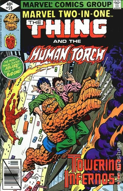 MARVEL TWO-IN-ONE THING  #70 VERY FINE 1st SERIES 1974