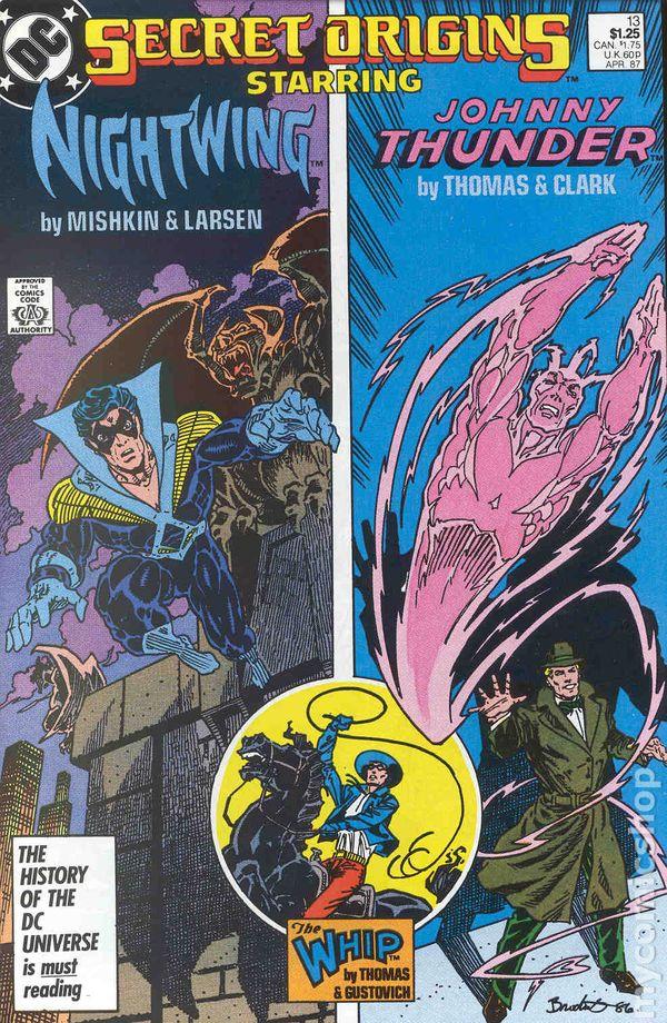 Secret Origins 1986 series # 35 very fine comic book