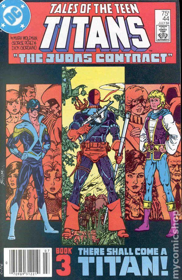 New Teen Titans 1980 Tales Of  Comic Books-6581