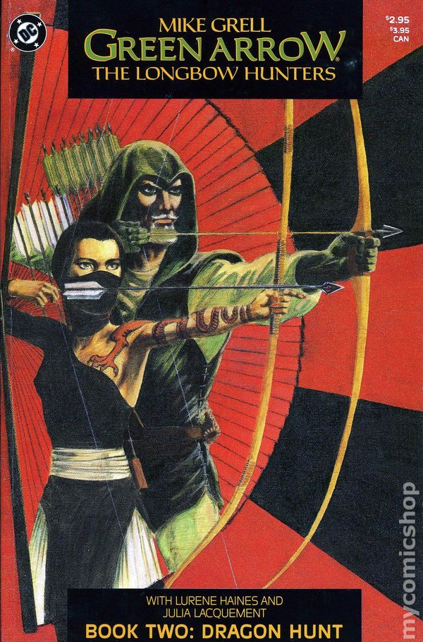 Green Arrow The Longbow Hunters 1987 Comic Books