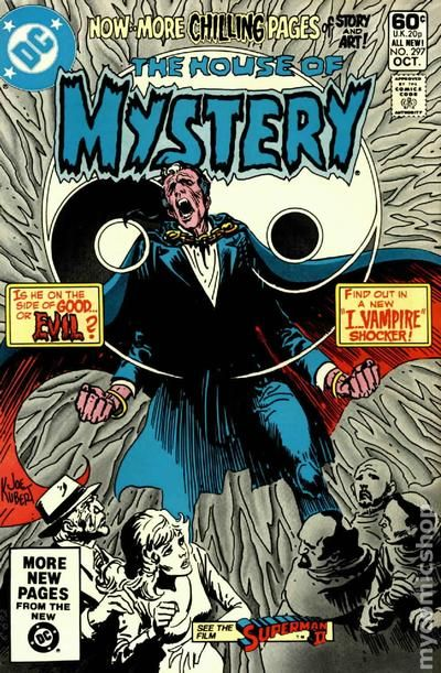 House Of Mystery (1951-1983 1st Series) 297 VG