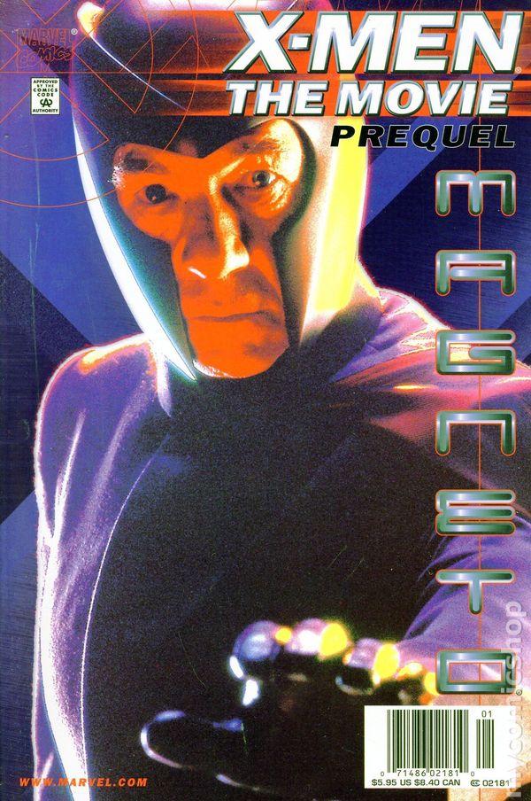 xmen the movie magneto prequel 2000 comic books