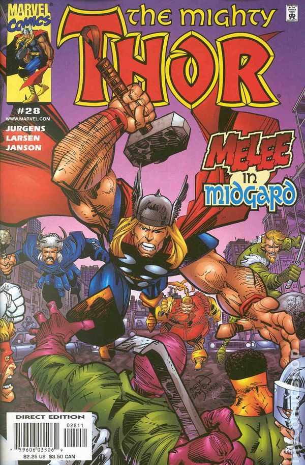 THOR #44 VERY FINE 1998 2nd SERIES MARVEL COMICS NEAR MINT 2002