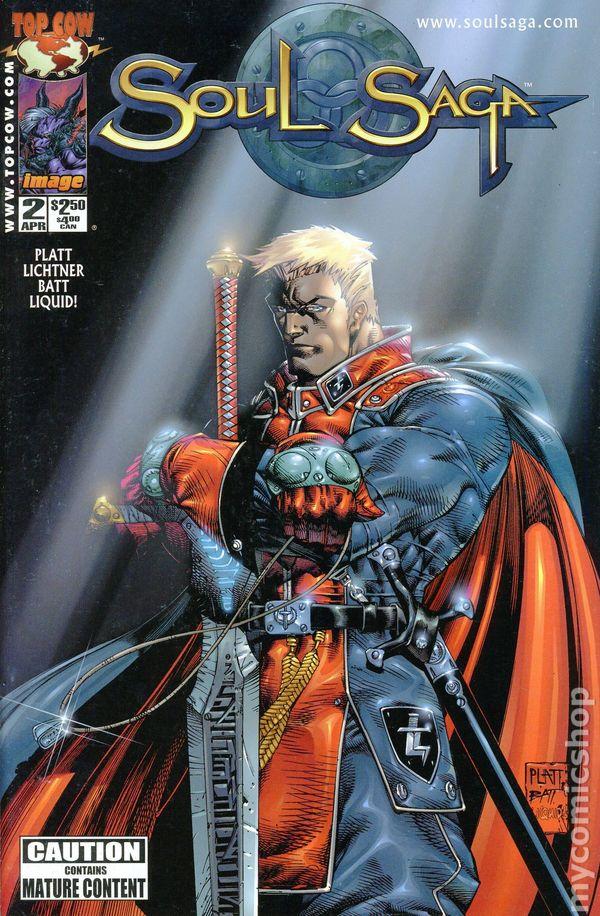 soul saga  2000  comic books