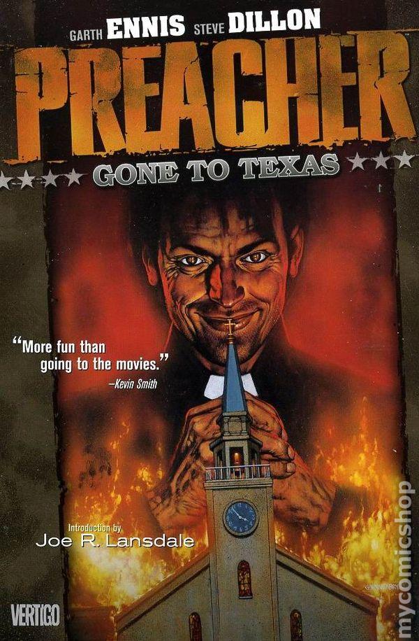 preacher tpb  1997 vertigo  comic books