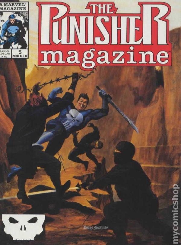 Punisher Magazine (1989) comic books