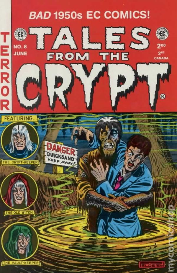 Tales From The Crypt 1992 Russ Cochran Gemstone 8