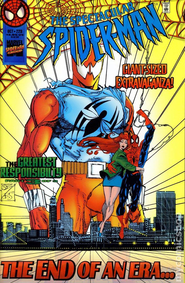 Spider-Man The Parker Years #1 VF 1995 Stock Image
