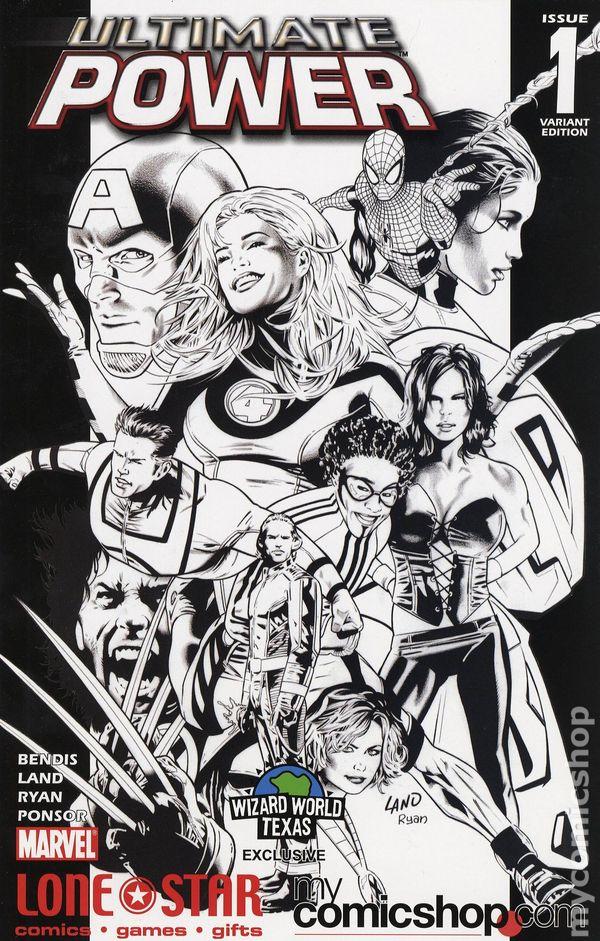 Ultimate Power 2006 series # 9 very fine comic book