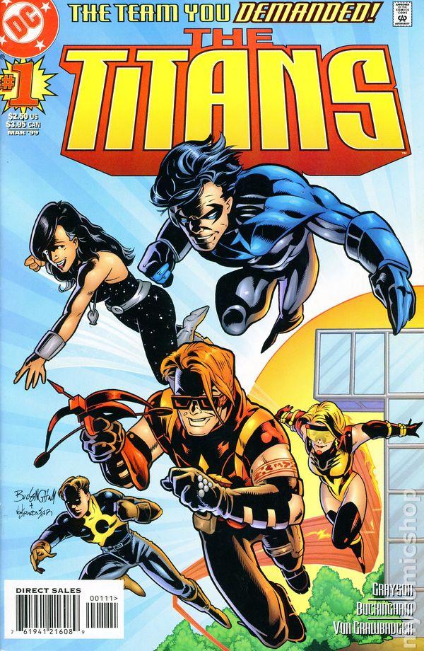 Titans 1999 1St Series Comic Books-2380