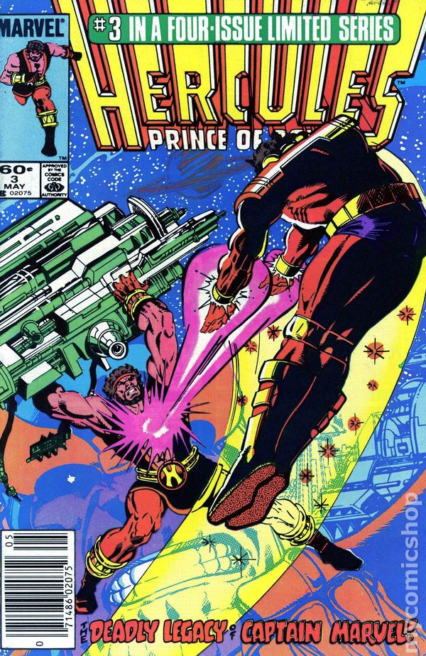 Marvel Comics Hercules Prince of Power #1 1984 GD