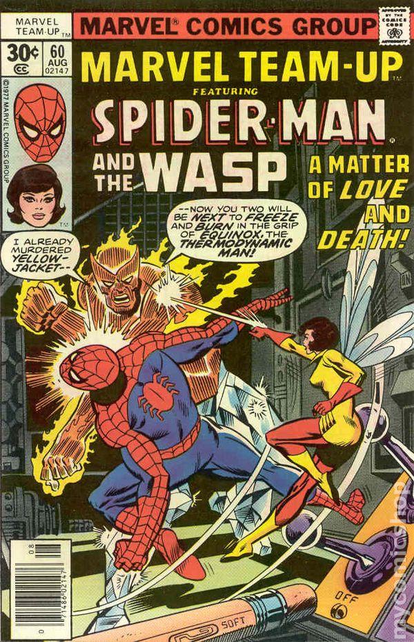 Marvel Team Up Comic Books Issue 60