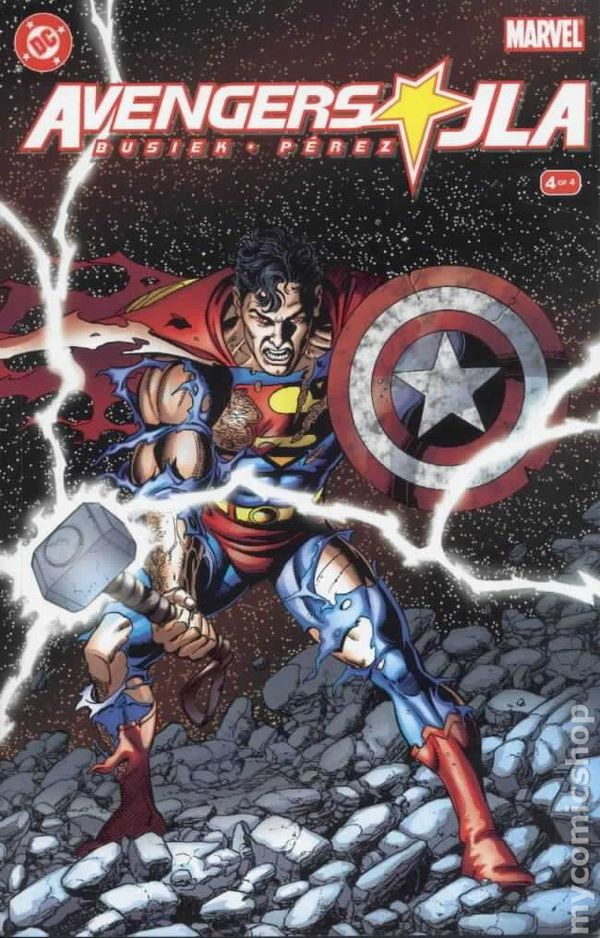 DC Avengers #2 Comic Book Marvel JLA