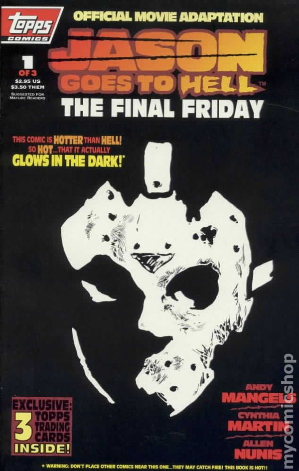 Jason Goes To Hell The Final Friday Poster