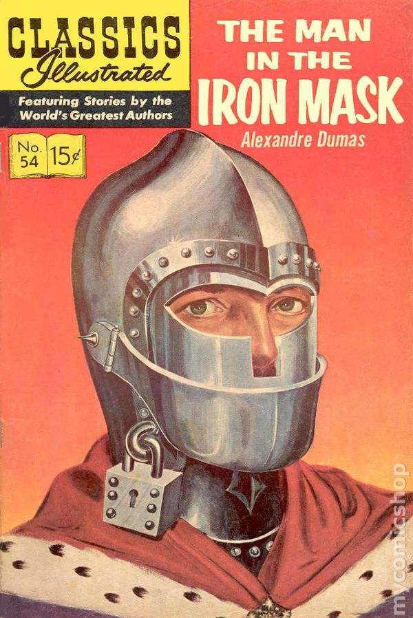 Marvel Illustrated: The Man in the Iron Mask, Part 4