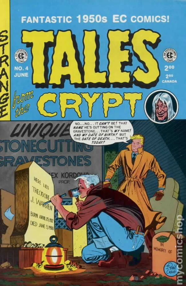 Tales From The Crypt 1992 Russ Cochran Gemstone 4