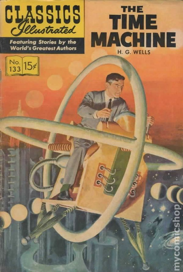 an analysis of the time machine by hg wells