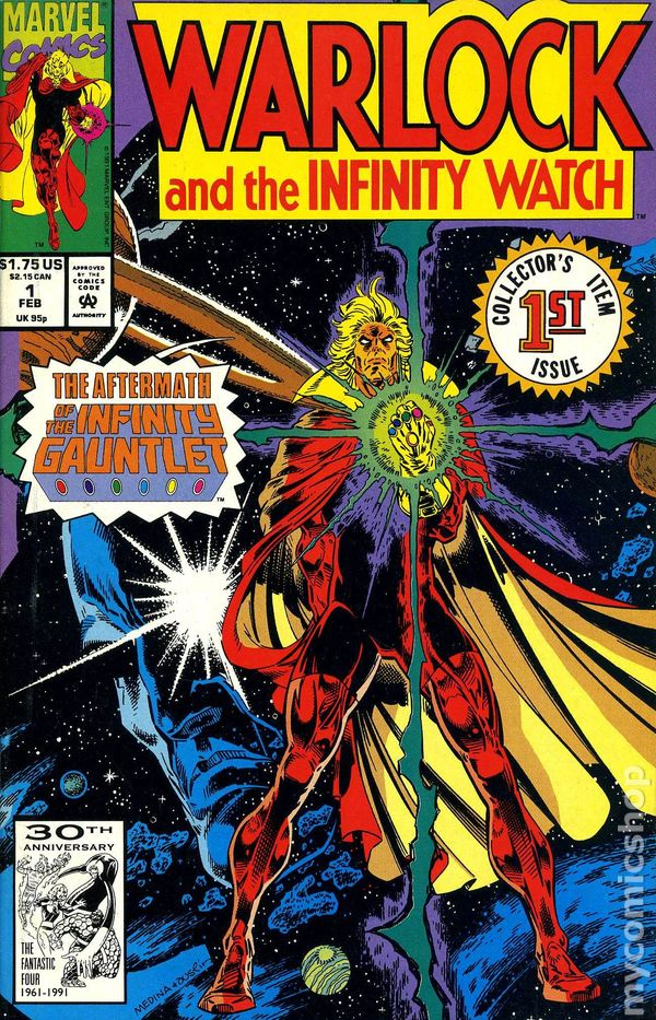 Warlock And The Infinity Watch 1992 Comic Books