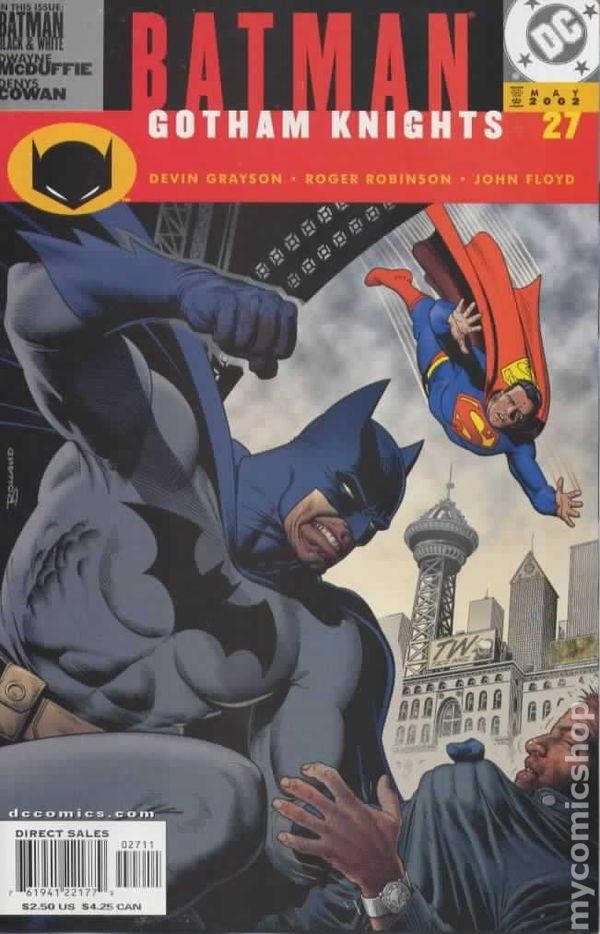 BATMAN GOTHAM KNIGHTS #5 VERY FINE// NEAR MINT 2000 DC COMICS