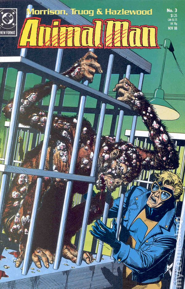 Animal Man 1988 series # 63 near mint comic book