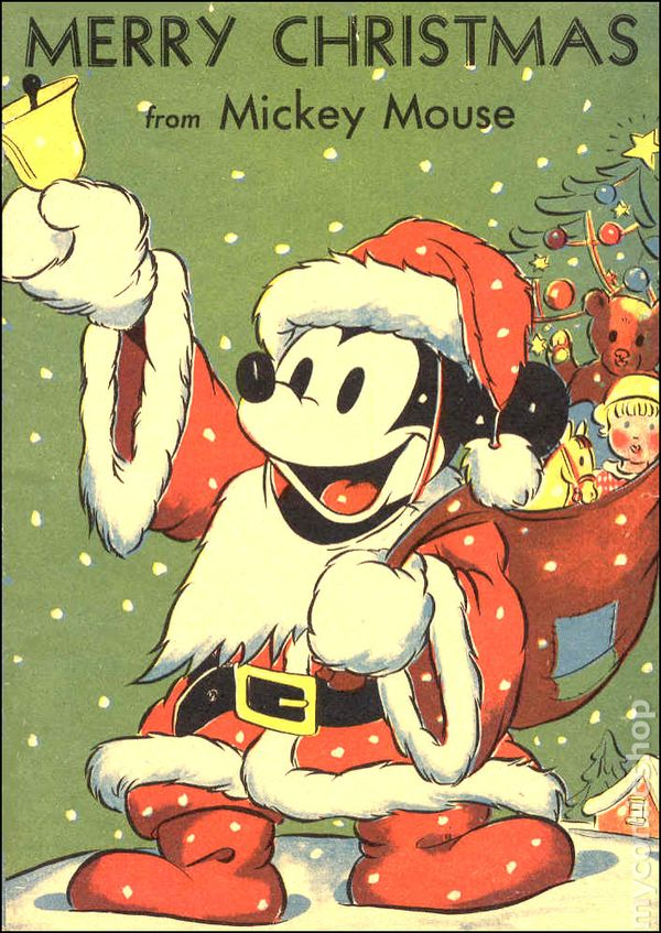 merry christmas from mickey mouse 1939 comic books - Merry Christmas Mickey Mouse