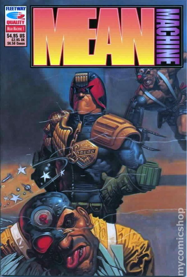 Mean Machine Book