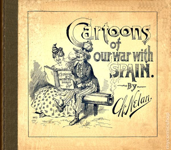 Cartoons of Our War with Spain (1898) comic books