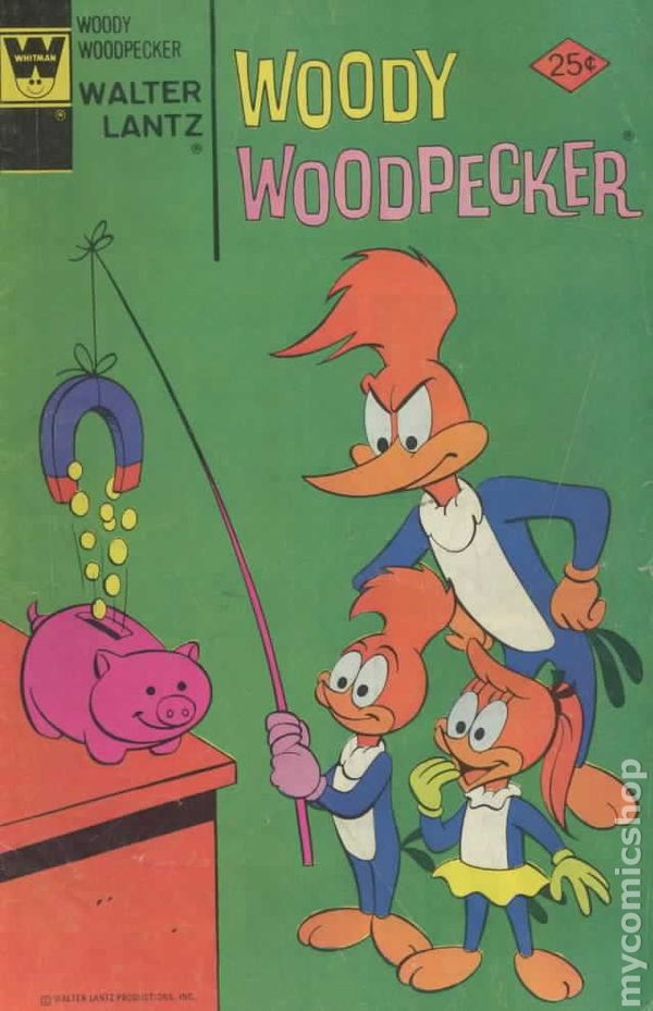 Woody Woodpecker (1972 Whitman) comic books