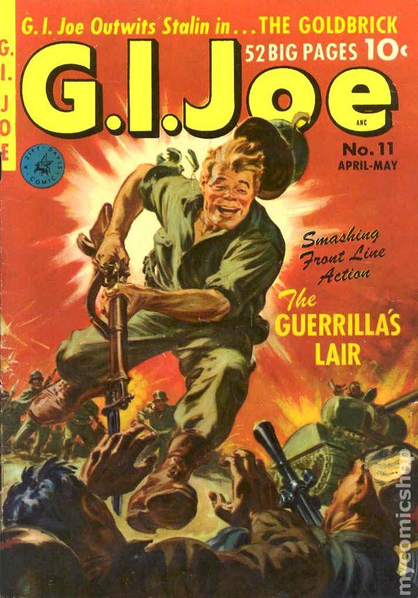 gi joe 1950 ziff davis comic books