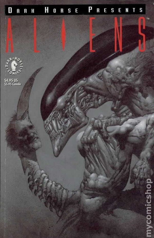 Dark Horse Presents Aliens 1992 Comic Books