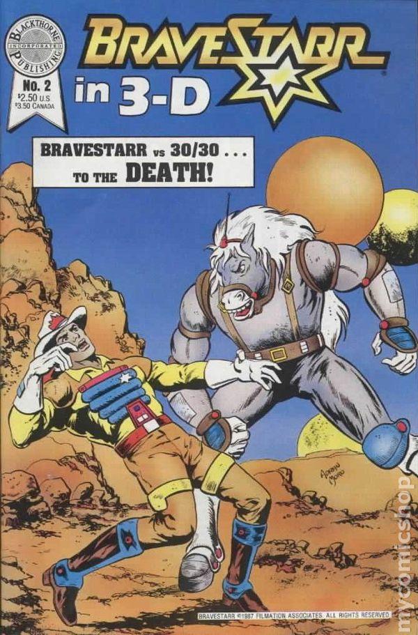 Bravestarr Comic