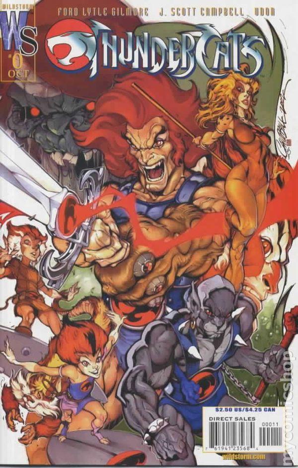 Thundercats (2002 2nd Series) comic books
