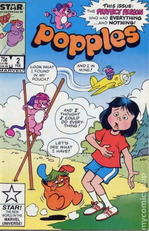 Popples 1986 Marvel Star Comics Comic Books