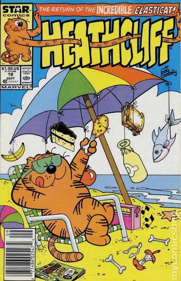 Heathcliff 1985 1991 Marvel Star Comics Comic Books