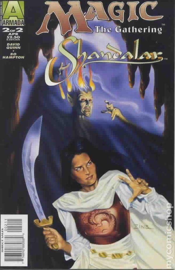 Magic The Gathering Shandalar #1 March 1996 Armada Comics Acclaim Comics