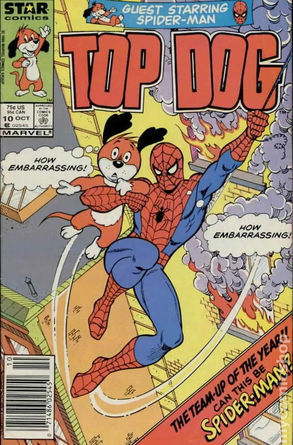 Top Dog 1985 1987 Marvel Star Comics Comic Books