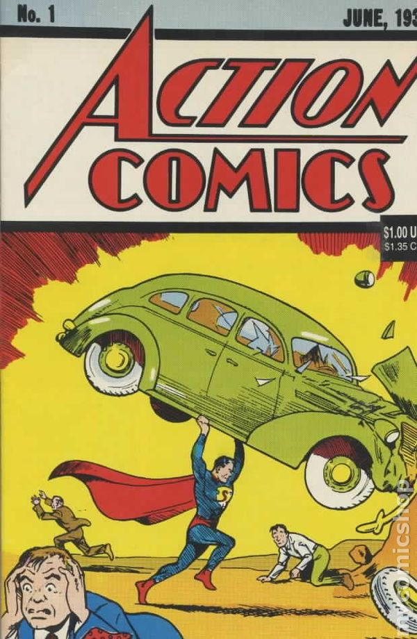 action comics  1938 dc   1 reprints comic books