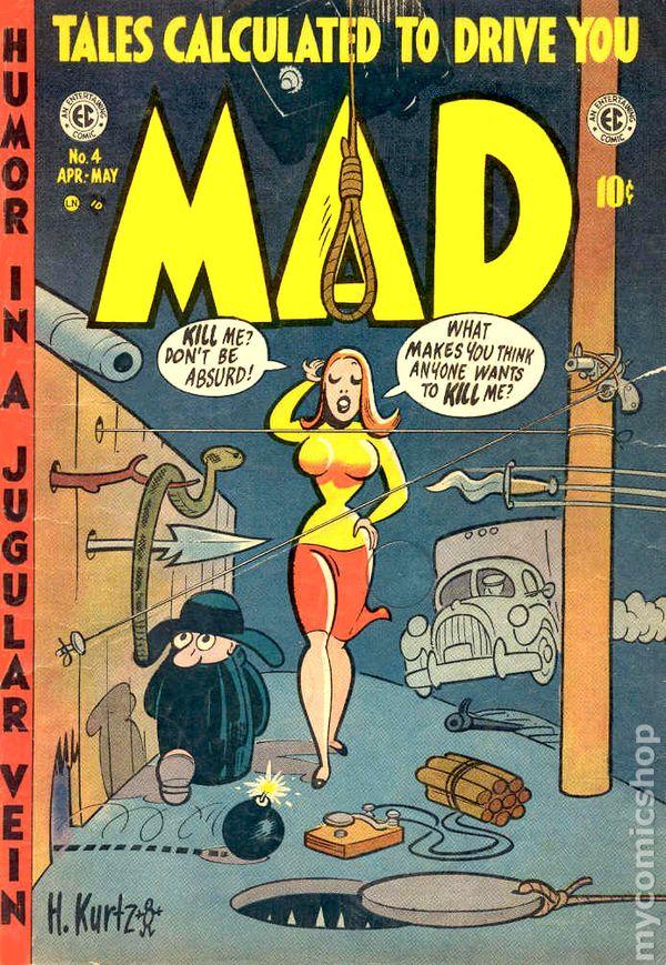 Mad 1952 Comic 1 23 Comic Books