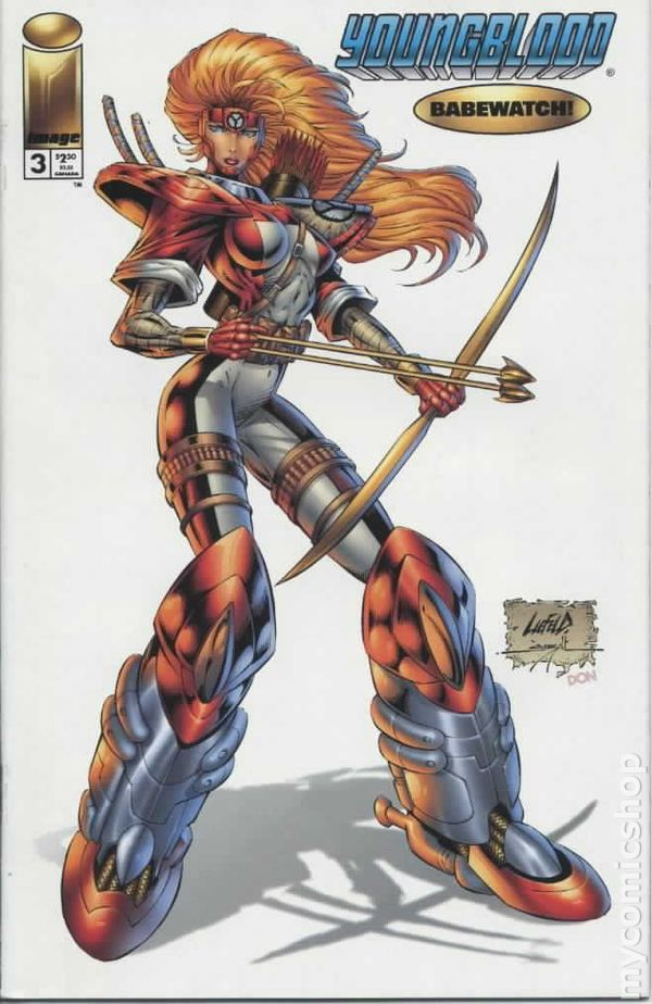 youngblood 1995 2nd series comic books