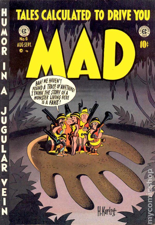 Opium Art Mad (1952 Comic 1-23) ...