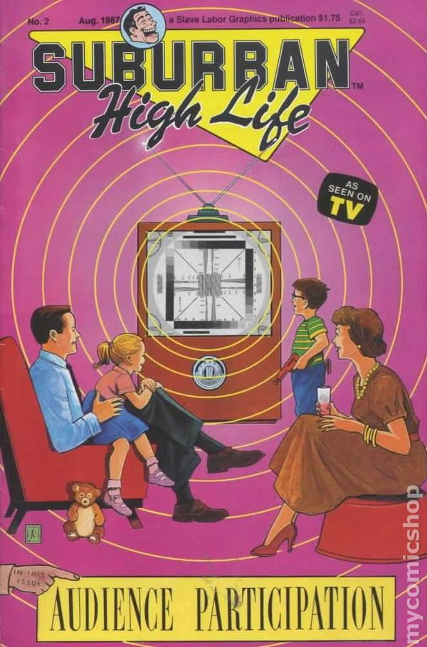 Suburban High Life #1 FN 1987 Stock Image
