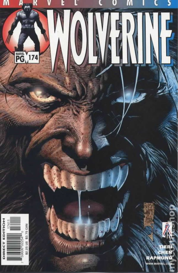 Wolverine #173 VF 2002 Stock Image