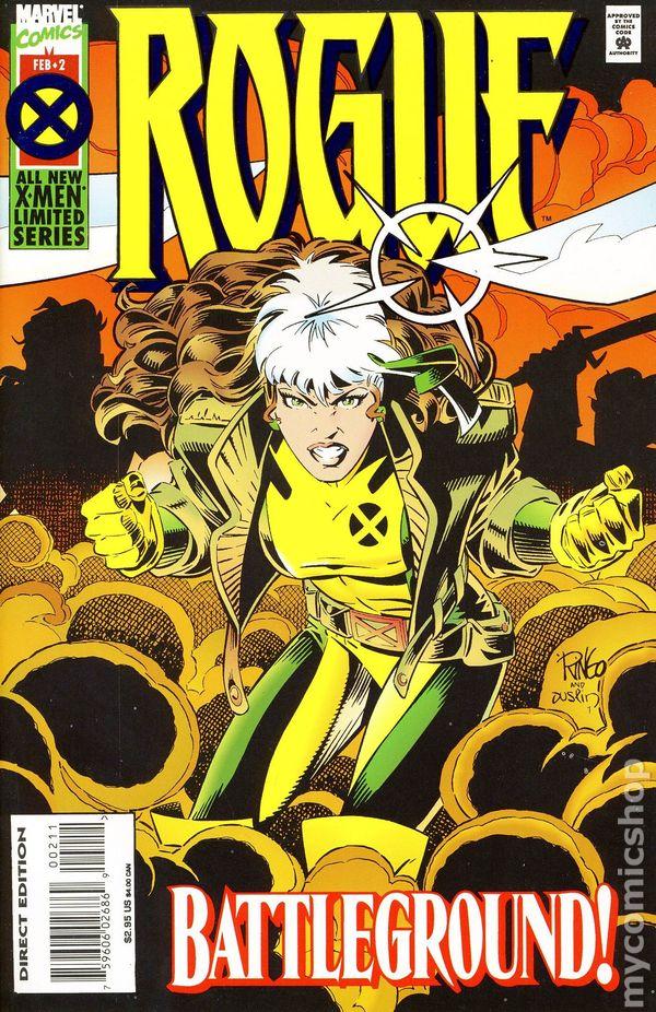 Rogue (1995 Marvel) 1st Series comic books