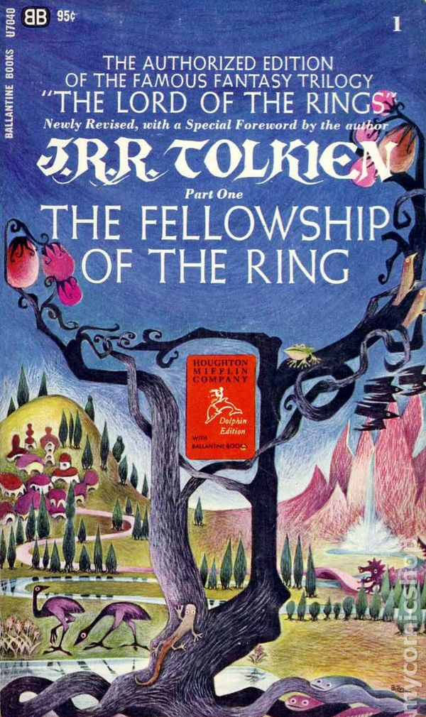 Lord of the Rings PB (1965 Ballantine Novel Authorized