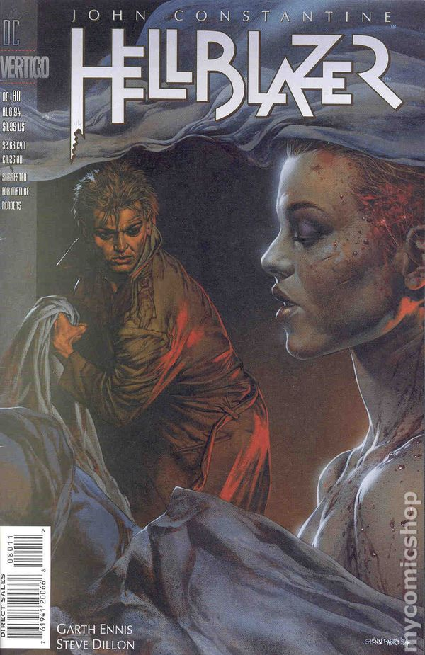 Hellblazer 1988 80 Comic books August 1994