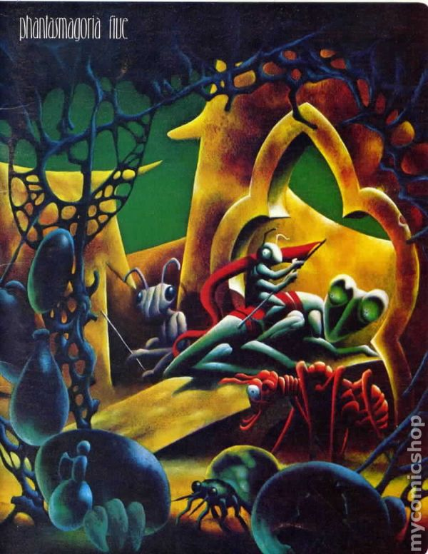 Image result for phantasmagoria #5 cover kenneth smith