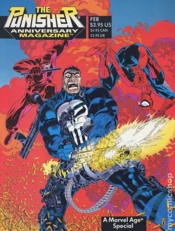 Punisher anniversary magazine 1994 comic books for Anniversary magazine