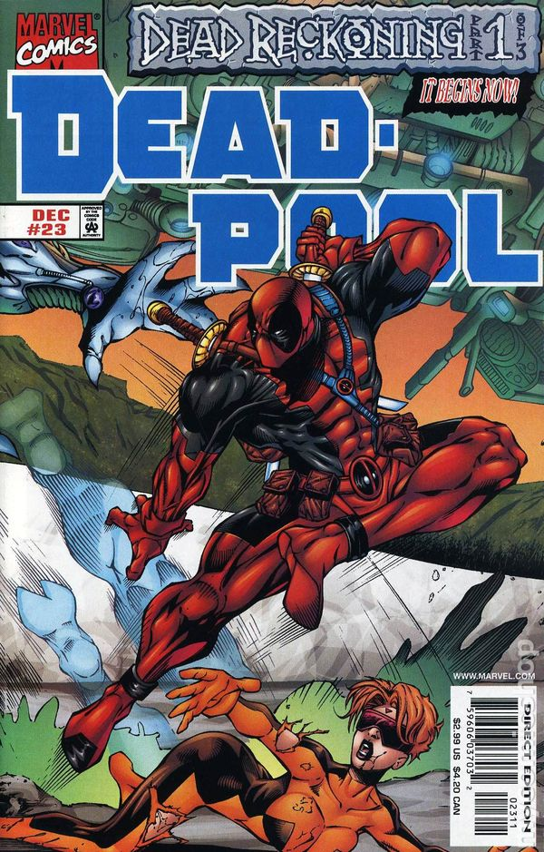 Deadpool 1997 1st series comic books for Deadpool show