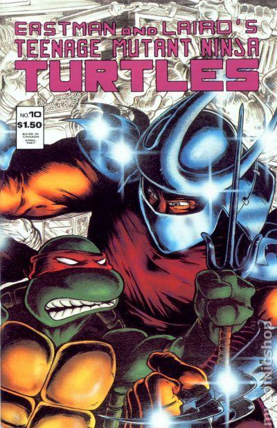 Comic Books In Return Of Shredder Tmnt