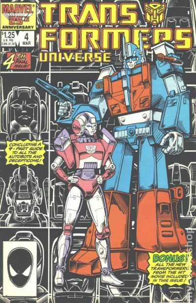 Transformers Universe 1986 Comic Books